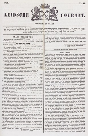 Leydse Courant 1876-03-15