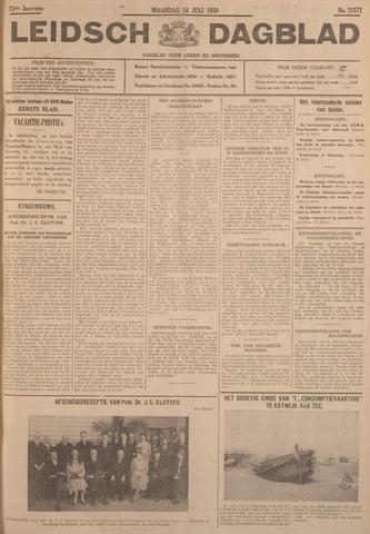 Leidsch Dagblad 1930-07-14