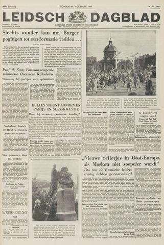 Leidsch Dagblad 1956-10-04