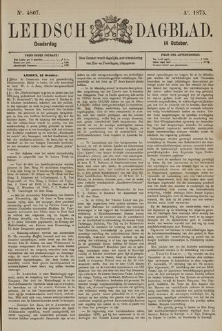 Leidsch Dagblad 1875-10-14