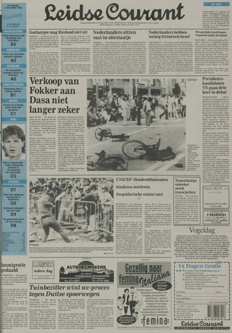 Leidse Courant 1992-10-03