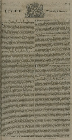 Leydse Courant 1722-10-14
