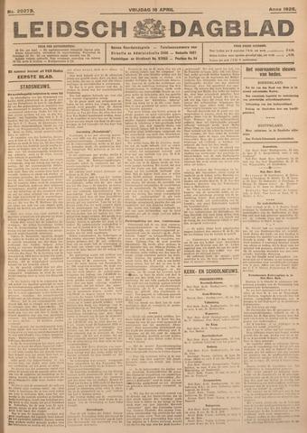 Leidsch Dagblad 1926-04-16