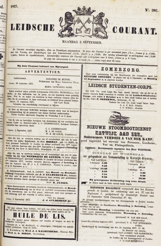 Leydse Courant 1877-09-03