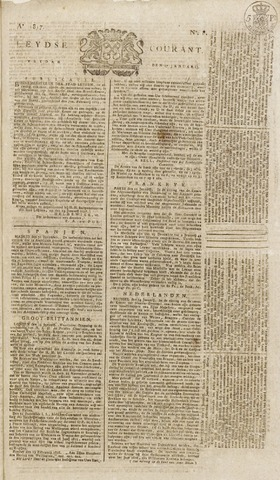 Leydse Courant 1817-01-17
