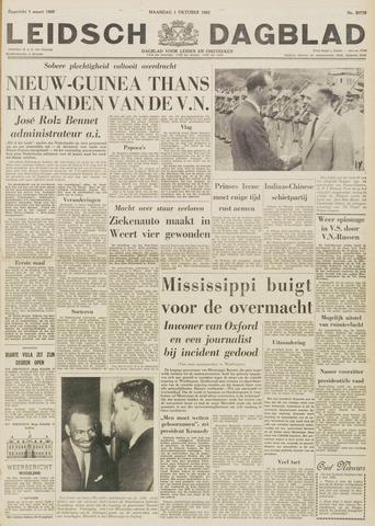 Leidsch Dagblad 1962-10-01