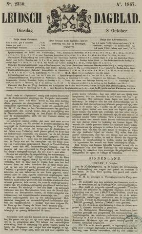 Leidsch Dagblad 1867-10-08