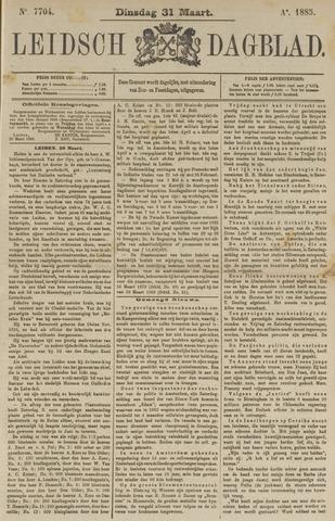 Leidsch Dagblad 1885-03-31