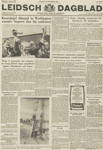 Leidsch Dagblad 1959-09-25