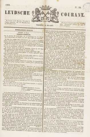 Leydse Courant 1862-03-14