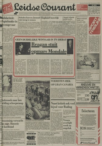 Leidse Courant 1984-10-22