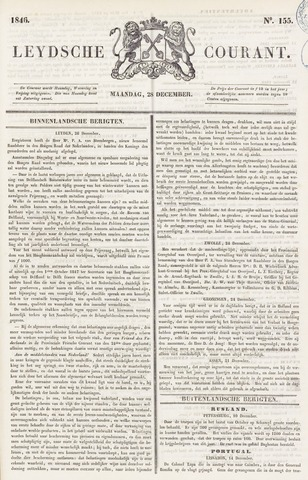 Leydse Courant 1846-12-28