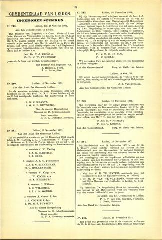 Handelingen van de Raad 1931-10-28