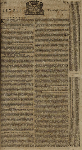 Leydse Courant 1751-02-24