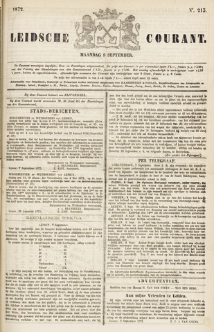 Leydse Courant 1872-09-09