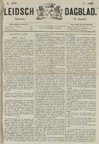 Leidsch Dagblad 1869-01-11