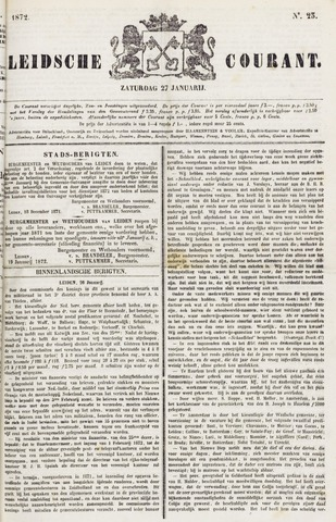 Leydse Courant 1872-01-27