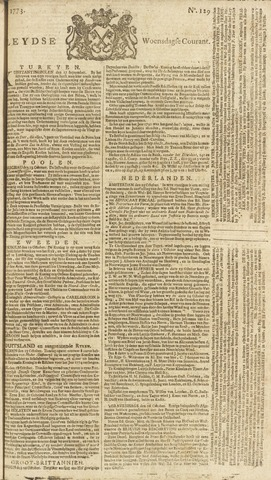 Leydse Courant 1773-10-27