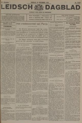 Leidsch Dagblad 1935-12-10