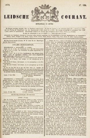 Leydse Courant 1872-06-11