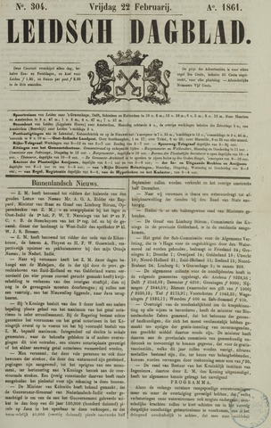 Leidsch Dagblad 1861-02-22