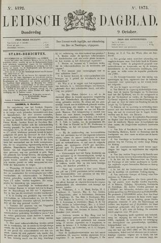 Leidsch Dagblad 1873-10-09