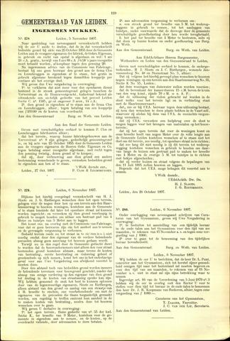 Handelingen van de Raad 1897-11-05