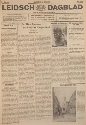 Leidsch Dagblad 1930-06-21