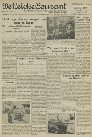 Leidse Courant 1950-05-11