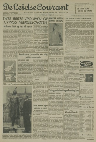 Leidse Courant 1958-10-04