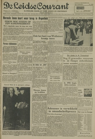 Leidse Courant 1955-09-27
