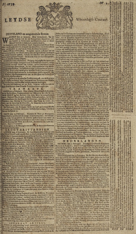 Leydse Courant 1759-02-14