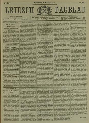 Leidsch Dagblad 1909-11-01