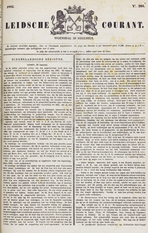 Leydse Courant 1882-08-30
