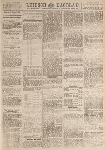 Leidsch Dagblad 1919-02-27