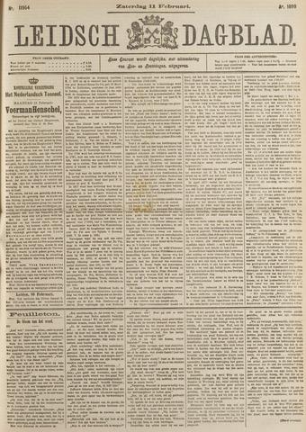 Leidsch Dagblad 1899-02-11