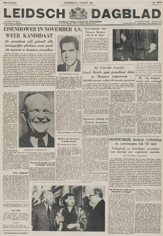 Leidsch Dagblad 1956-03-01