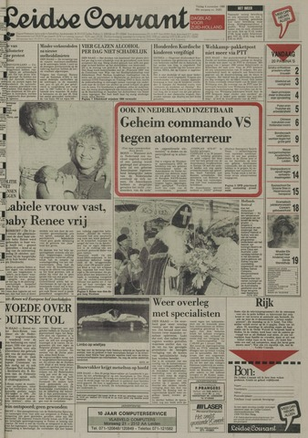 Leidse Courant 1988-11-04