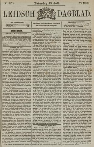 Leidsch Dagblad 1882-07-15