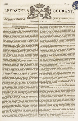 Leydse Courant 1860-03-14