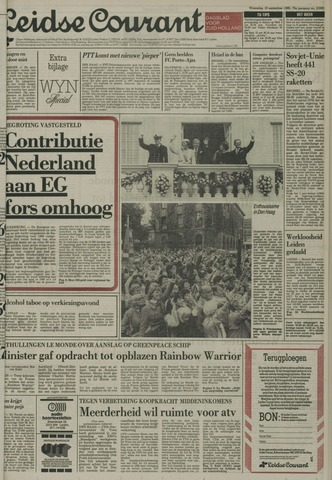 Leidse Courant 1985-09-18