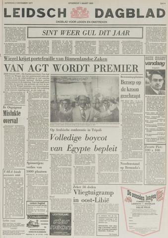 Leidsch Dagblad 1977-12-03