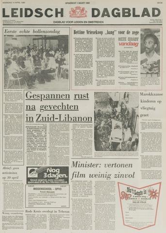 Leidsch Dagblad 1980-04-14