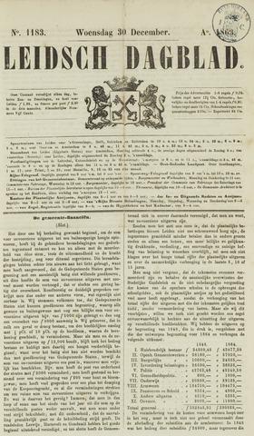 Leidsch Dagblad 1863-12-30