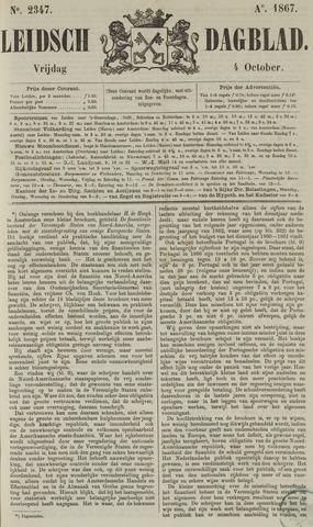 Leidsch Dagblad 1867-10-04