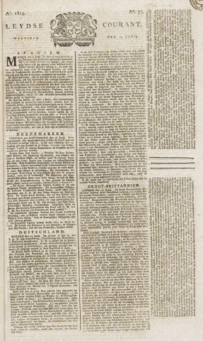 Leydse Courant 1814-06-29