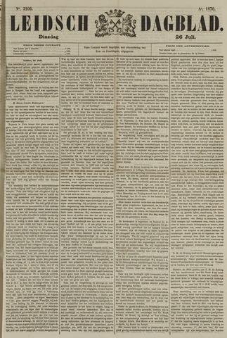 Leidsch Dagblad 1870-07-26