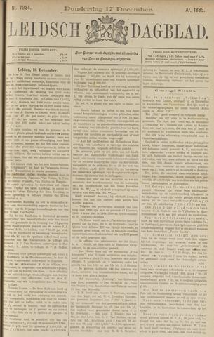 Leidsch Dagblad 1885-12-17