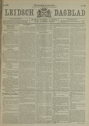 Leidsch Dagblad 1911-10-11