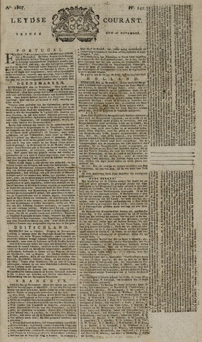 Leydse Courant 1807-11-27
